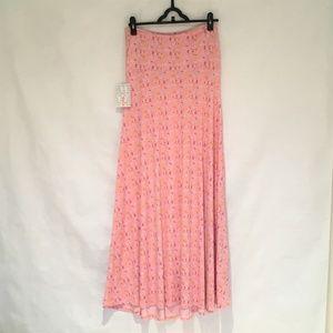 NWT LuLaRoe Maxi pink skirt or dress